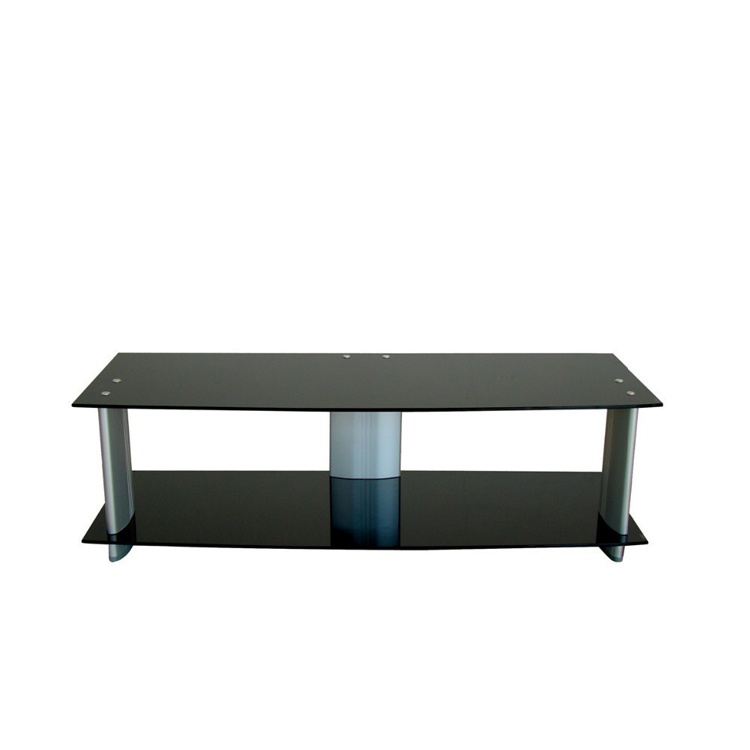 Living Room Furniture corner shelf glass TV stand RA022