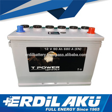 90 Ah TPower Cheap Battery H3 for bus truck and generator