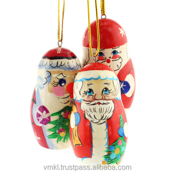 Santa Claus Christmas decoration, mix of Christmas souvenirs for hanging, cheap Christmas gift, NI