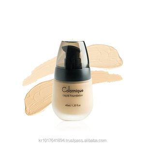 Natural Private label perfect makeup waterproof beauty liquid foundation for oily skin
