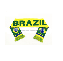 High Quality 100% Polyester Country Flag Scarfs, Cheap Unisex Scarfs