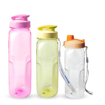 Eco friendly custom made 700ml 1 liter plastic pet sport