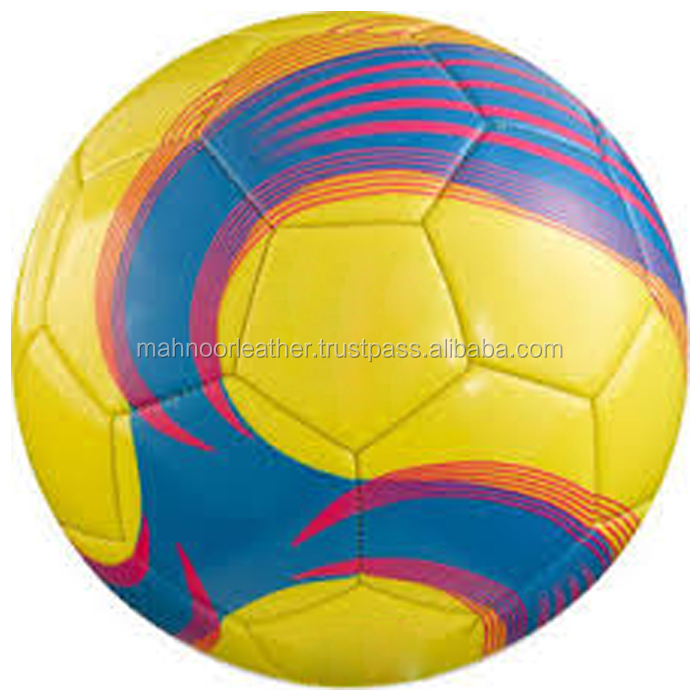 Hot Quality Leather Training School Team Player Outdoor Game Supply Soccer Club Ball