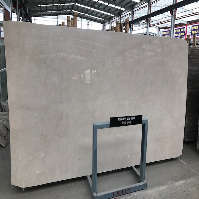 Cream Marble Slab Cheap Quarry Price Natural