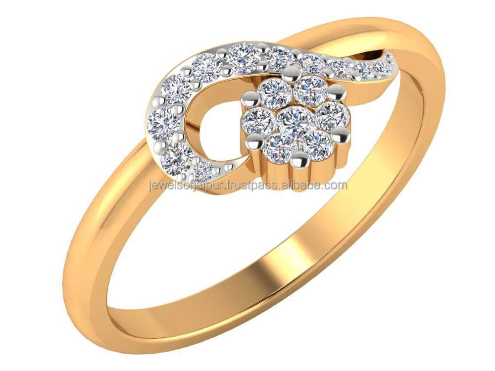 Mothers Day Special Big Girls Need Big Diamond Ring 14k Natural Certified Diamond Yellow Gold For Party Wear