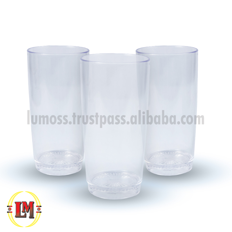 Clear Willy Drinking Glass/Tumbler - 385ml