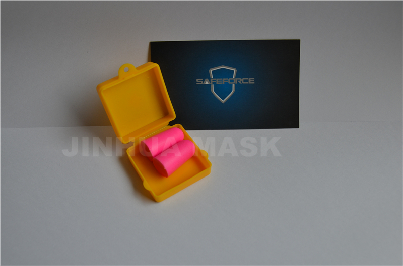 clear plastic box earplug
