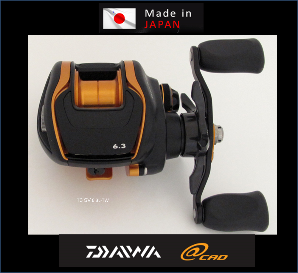 USED DAIWA, T3 SV6.3L-TW Japanese High Quality & Reliability made in Japan