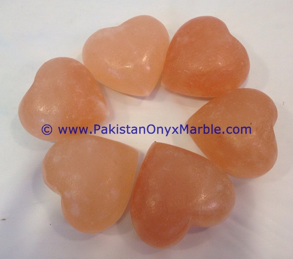 HIMALAYAN SALT MASSAGE STONES HEART
