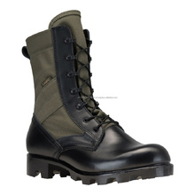 High Quality Jungle Boot Leather & Canvas for men