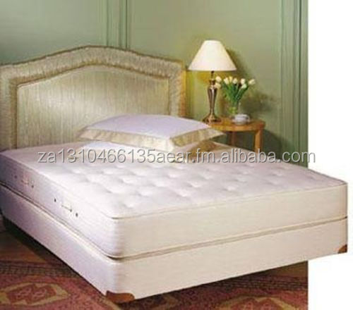 Royal-Pedic King-Size All Cotton Mattress w Box Spring