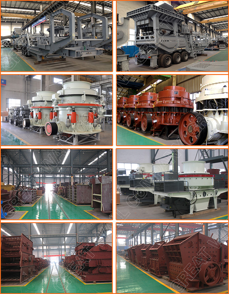 High Quality Mobile Cone Crusher Plant with ISO CE Certificate