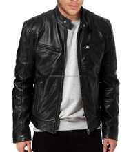 ARTIFICIAL LEATHER / COW / BUFFALO / MOTORCYCLE High quality Custom made leather Jackets