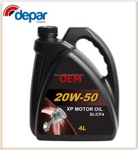 20W 50 Engine Lubricant Oil for Automotive Motor Protection