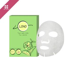 22g Low MOQ private label OEM/ODM anti wrinkle for women serum injected cotton sun protection collagen korea facial mask sheet