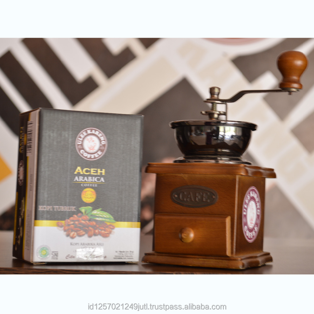 Best Quality Ulee Kareng Aceh Arabica Coffee Less Sugar - Instant Coffee