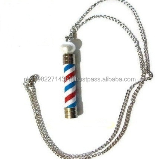 Barber Jewelry/Necklace/Barber pole pendant