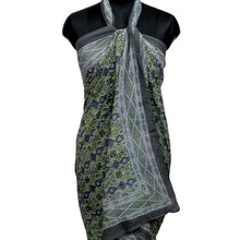 Block printed women's wear beach wrap pareo 100% cotton fabric sarong