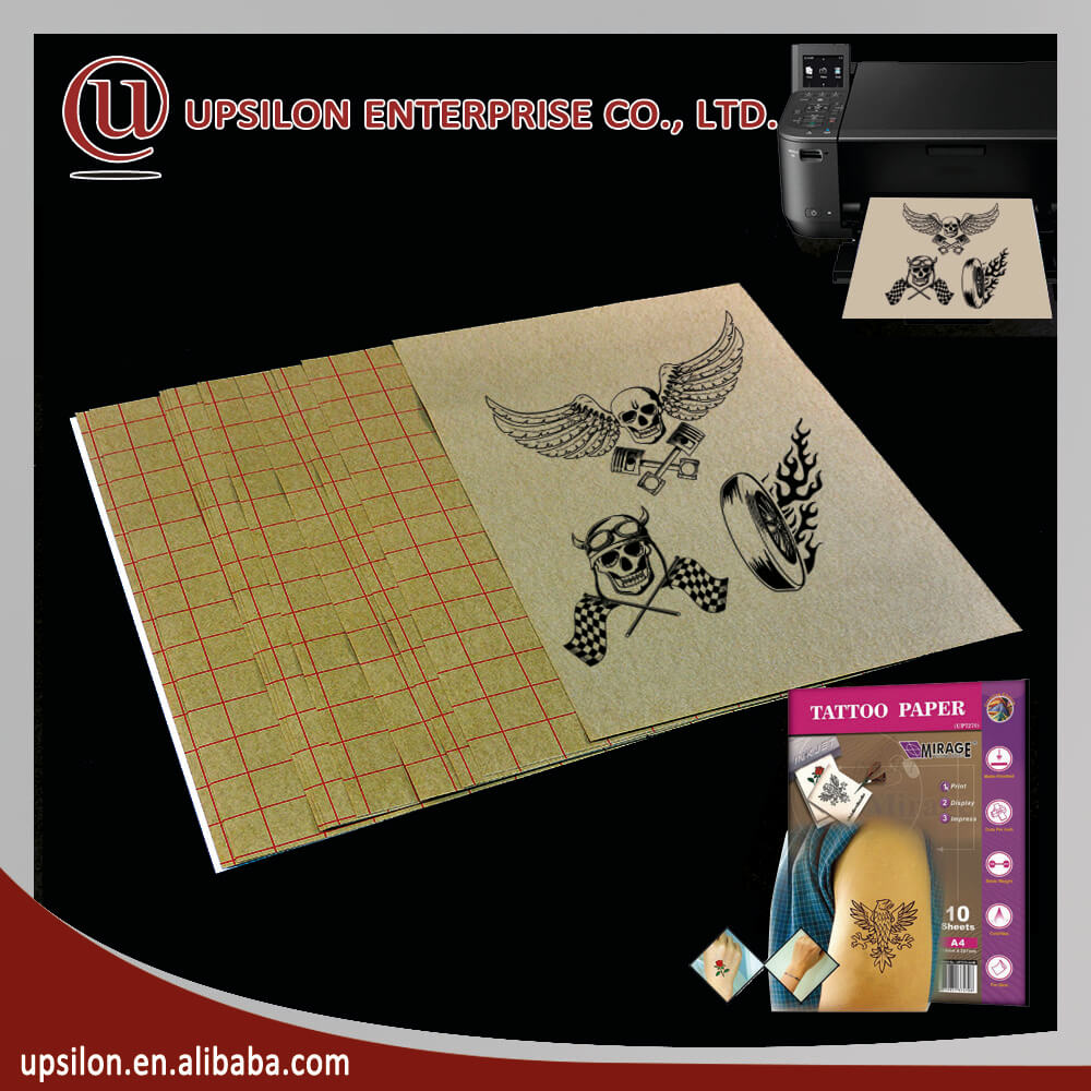 Funny DIY Inkjet Printable Tattoo Paper