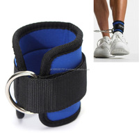 weight lifting D ring ankle strap