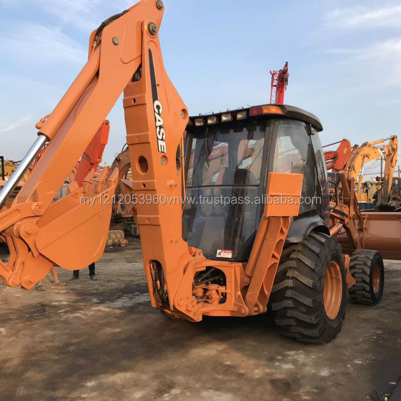 backhoe loader case 580N USED Hot sale second hand loader