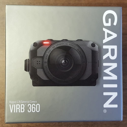 VIRB 360 GARMIN Virb 360 - Rugged, Waterproof 360-degree Camera W- Tripod