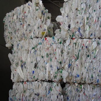 Clean Washed HDPE Milk Bottles Scrap in Bales Cheap price
