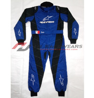 Latest Style Double-Layer Ventilated Go Kart Racing Suit Overall