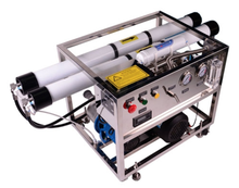 Portable seawater desalination machine, desalinator for drinking water