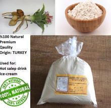 Salep Orchid Extract powder | sahlap hot drink ice cream and medicine TURKEY | %100 Organic salep