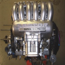 Jdm Mazd 20B Rew 3 rotor rX7 Engine With Transmission