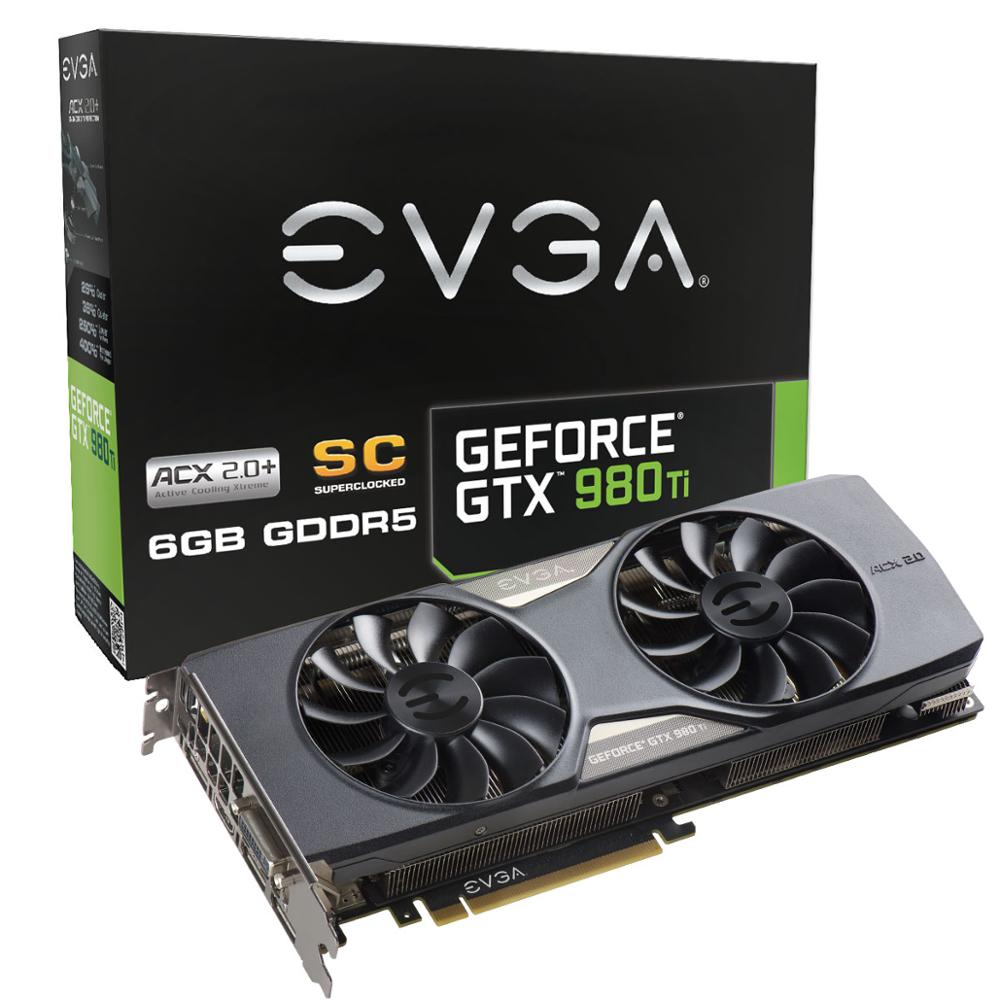 NVIDIA GeForce GTX 980 Ti Superclocked Graphic Card