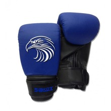 Child Boxing Fighting Muay Thai Sparring Punching Kickboxing Grappling Sandbag Gloves Blue