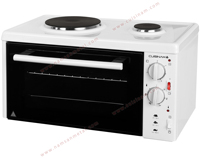 Cuisinam Euro Compact Cooker with 2 Hotplates