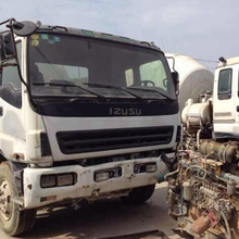 Used Concrete Mixer truck, Used ISUZU Diesel Concrete Mixer Truck for sale