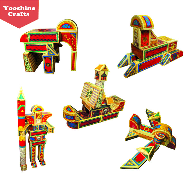 Honourable Royal wooden Toy Bricks, toy building block, educational toys