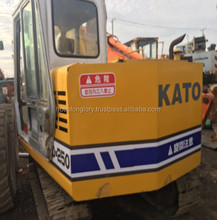 Good and cheap used kato excavator HD250