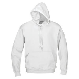 Wholesale cheap Plain white sports gym oversize fleece custom blank hoodies With Draw cold
