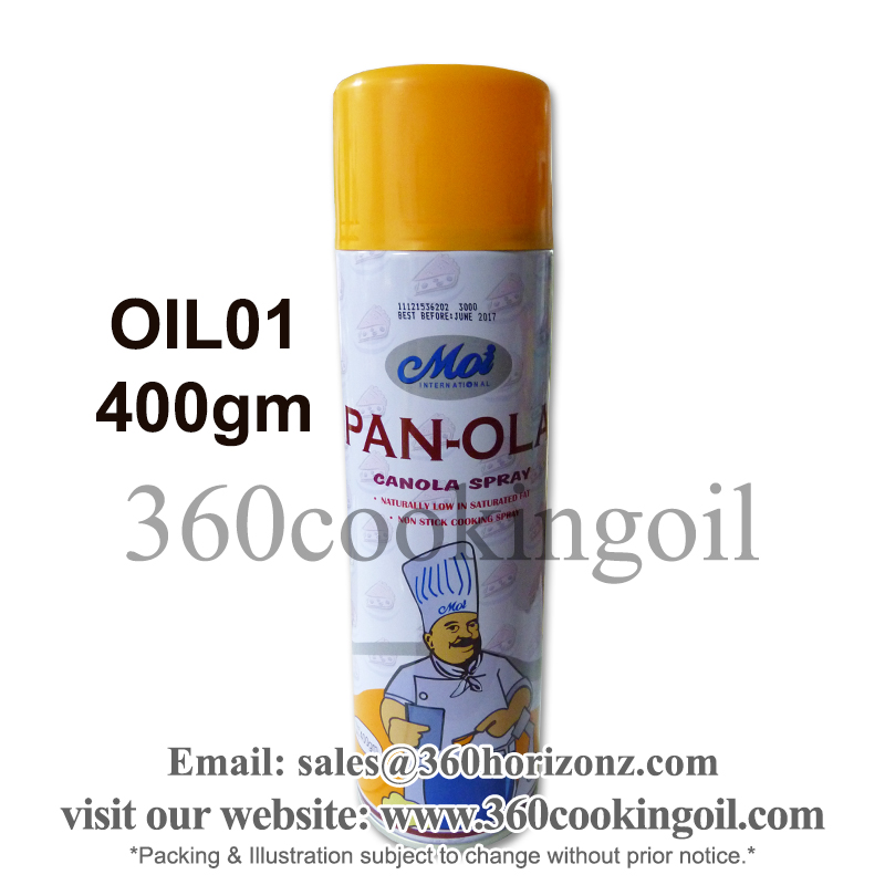 400gm Moi Canola Spray Oil (Premium Cooking Oil )