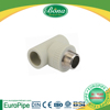 [EUROPIPE] PPR green threaded tee/ PPR pipe and pipe fittings pp materials for inner thread tubes