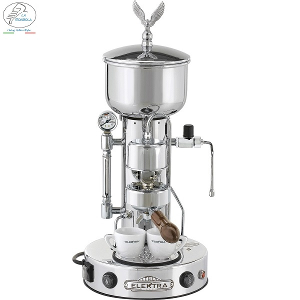 Made in Italy Coffee Maker - Elektra Micro Casa Semiautomatica- Espresso Machine for both Home and Commercial Use