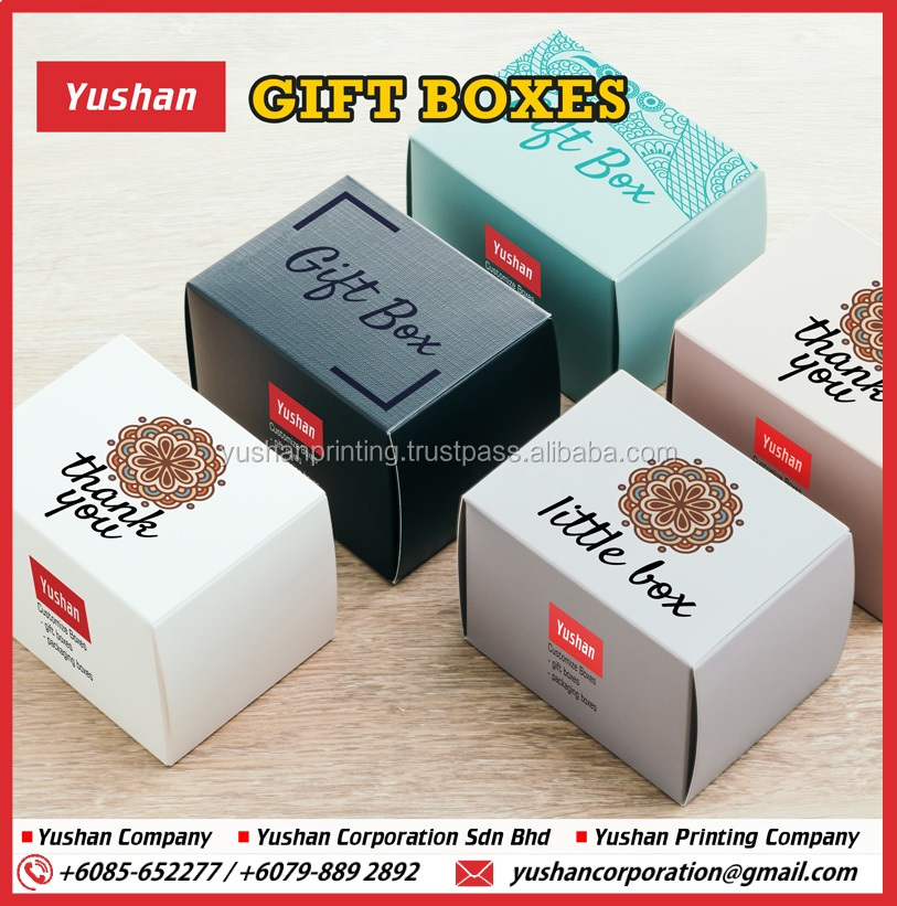 Customized Gift Box / Paper Box Printing / Packaging Carton for Event or Door Gift