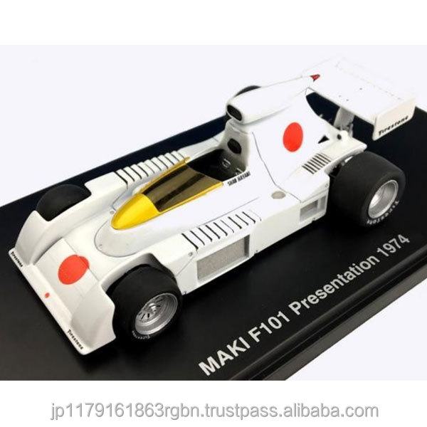 Premium and High quality 1/43 scale figure car ( MAKI F101 , Formula One car ) created by Japan