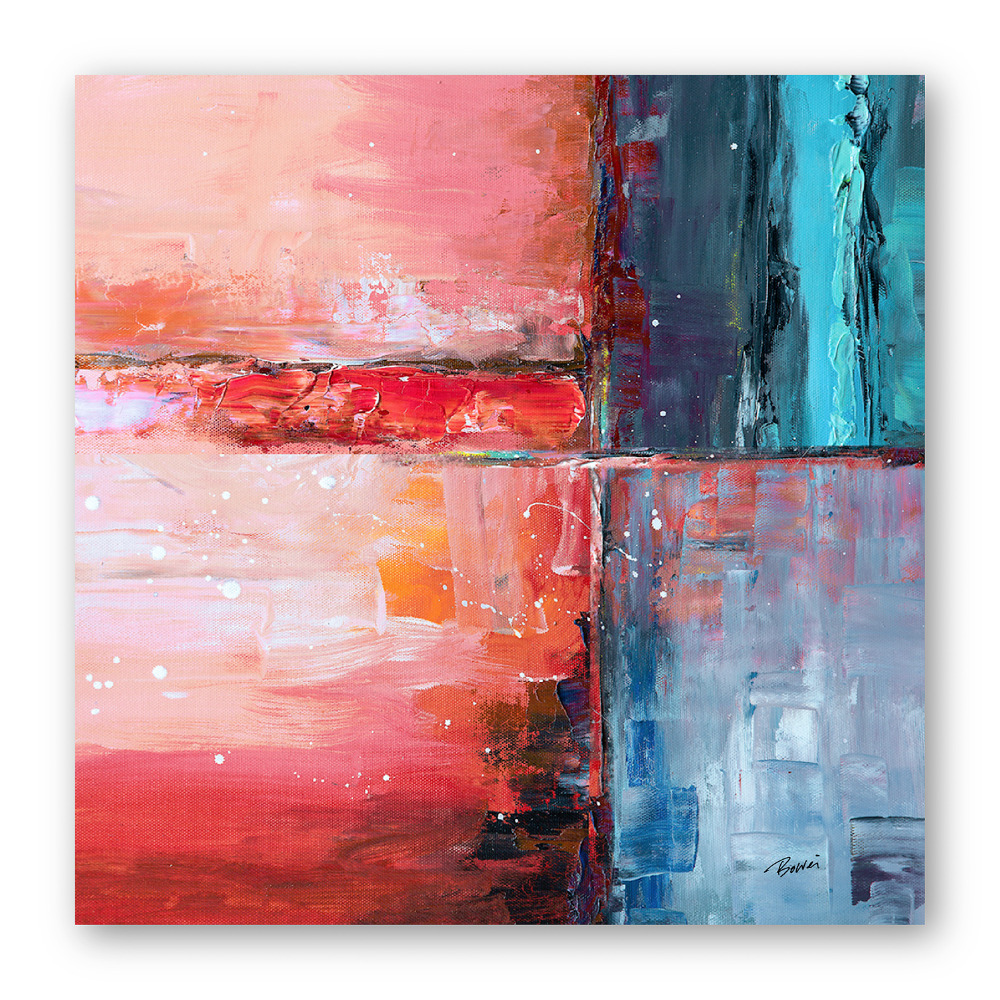 Modern Abstract Art Oil Painting Printed on High Quality Photo Paper for Wall Decoration