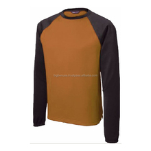 O-Neck raglan sleeve performance t shirt with free shipping from NY warehouse