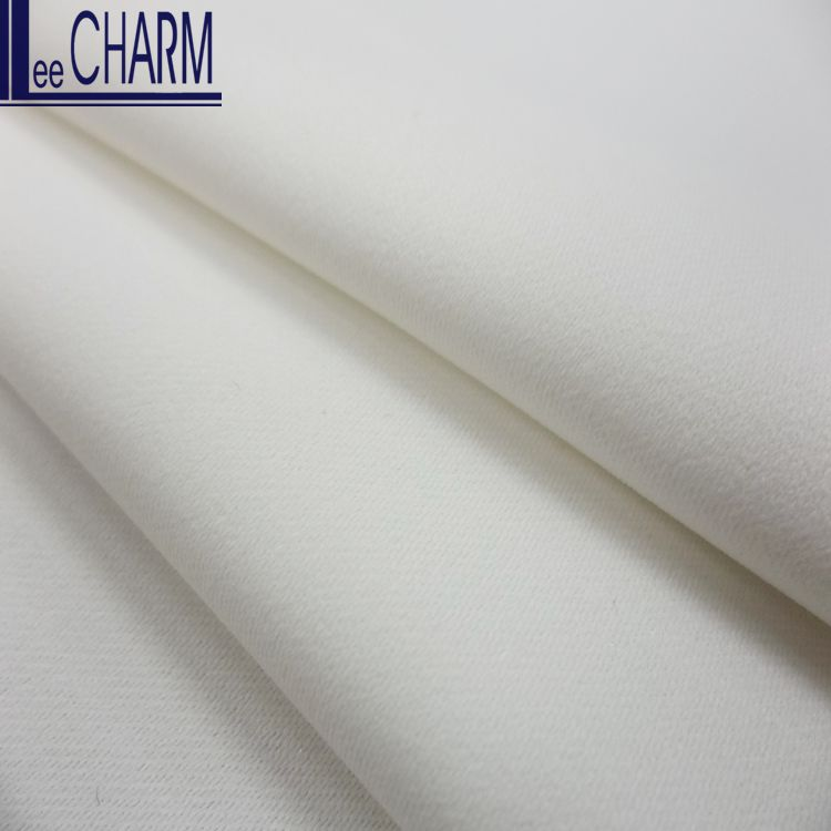LCL265 Satin Material Bridal Fabric Ivory