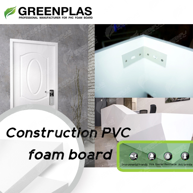 PVC foard for construction