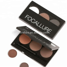 FOCALLURE Factory Dropship Makeup Waterproof Permanent Eyebrow Powder Alibaba Hot Products