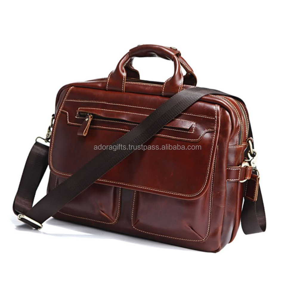 bag for laptop with 5 compartment / ladies laptop bags with low price / cheap leather laptop bags for men