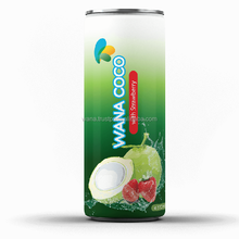 Frozen Coconut Water Manufacturer With Strawberry Flavor in Can 320ml